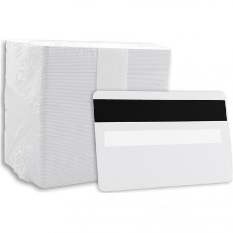 Carte PVC - Panneau de signature - Piste magnétique (CBV/75S)