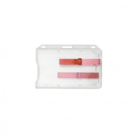 Rigid badge holder 2-Access Card -  Extractor Slides