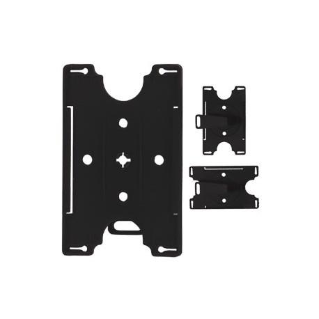 Porte-badge rigide - Clip rotatif - (PBR/25)