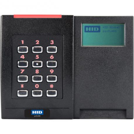 HID - iClass SE - Lecteur avec Affichage - RPKL40