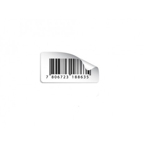 Repositionable Barcode labels
