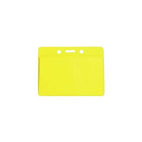 Color flexible badge holder